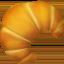 Croissant Emoji (Apple)