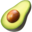 Avocado Emoji (Apple)