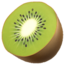 Kiwi Fruit Emoji (Apple)