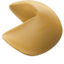 Fortune Cookie Emoji (Apple)