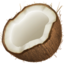 Coconut Emoji (Apple)