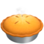 Pie Emoji (Apple)