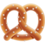 Pretzel Emoji (Apple)