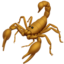 Scorpion Emoji (Apple)
