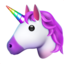 Unicorn Face Emoji (Apple)