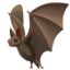 Bat Emoji (Apple)