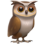 Owl Emoji (Apple)