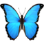 Butterfly Emoji (Apple)
