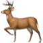 Deer Emoji (Apple)