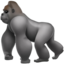 Gorilla Emoji (Apple)