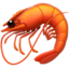 Shrimp Emoji (Apple)