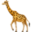 Giraffe Emoji (Apple)