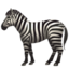 Zebra Emoji (Apple)