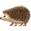 Hedgehog Emoji (Apple)