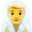 Person In Steamy Room Emoji (Apple)