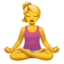Person In Lotus Position Emoji (Apple)