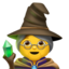 Mage Emoji (Apple)