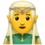 Elf Emoji (Apple)
