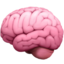 Brain Emoji (Apple)