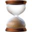 Hourglass Done Emoji (Apple)