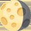 Waning Gibbous Moon Emoji (Facebook)