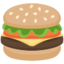 Hamburger Emoji (Facebook)