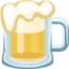 Beer Mug Emoji (Facebook)