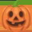 Jack-O-Lantern Emoji (Facebook)