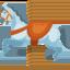 karuselės arkliukas Emoji (Facebook)