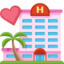 Love Hotel Emoji (Facebook)