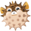 Blowfish Emoji (Facebook)