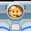 Man Astronaut Emoji (Facebook)