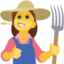 Woman Farmer Emoji (Facebook)