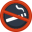 No Smoking Emoji (Facebook)