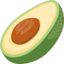 Avocado Emoji (Facebook)