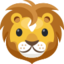 Lion Face Emoji (Facebook)