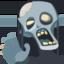 Zombie Emoji (Facebook)