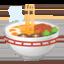 Steaming Bowl Emoji (Google)