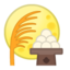 Moon Viewing Ceremony Emoji (Google)