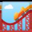 Roller Coaster Emoji (Google)