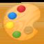 Artist Palette Emoji (Google)