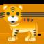 Tiger Emoji (Google)