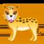 Leopard Emoji (Google)