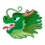 Dragon Face Emoji (Google)