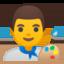 Man Artist Emoji (Google)