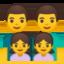 Family: Man, Man, Girl, Girl Emoji (Google)