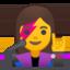 Woman Singer Emoji (Google)