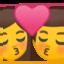 Kiss Emoji (Google)
