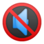 Muted Speaker Emoji (Google)