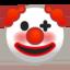 faccina pagliaccio Emoji (Google)